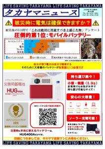 第204号:タカヤマニュース:HUG400A